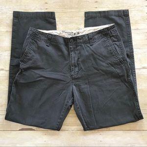Old Navy Broken-In Khakis in Grey Men's 36 x 34